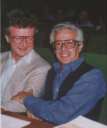 Ruiz Pipò con Mauro Storti