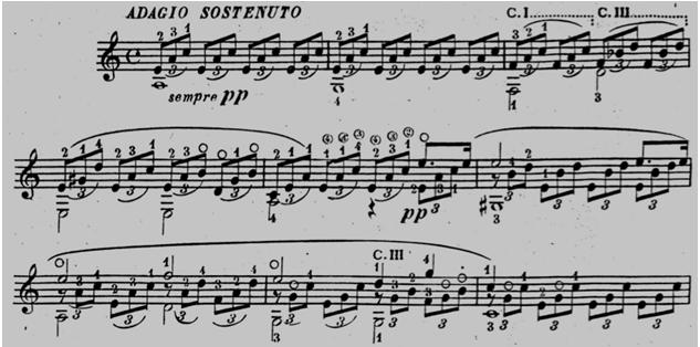MAuro Storti - Tarrega - Adagio Sostenuto