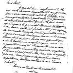Fig.6 – Lettera del compositore Mario Castelnuovo-Tedesco.